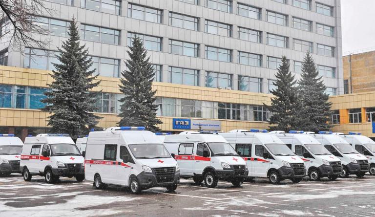 Автомобили скорой помощи «ГАЗель NEXT» и «Соболь» переданы медучреждениям Нижегородской области