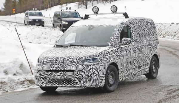 Новый Caddy от Volkswagen впервые засняли на тестах