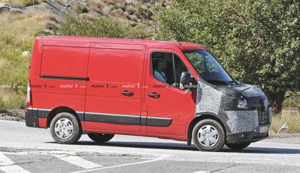 Компания Renault выпустит обновлённый фургон Master