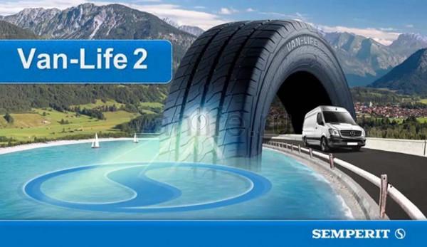 Компания Semperit представила шины Van-Life 2 для коммерческого транспорта