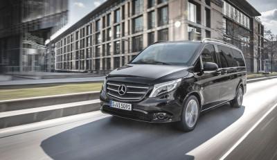 Новые варианты окраски и опции для Mercedes-Benz Vito