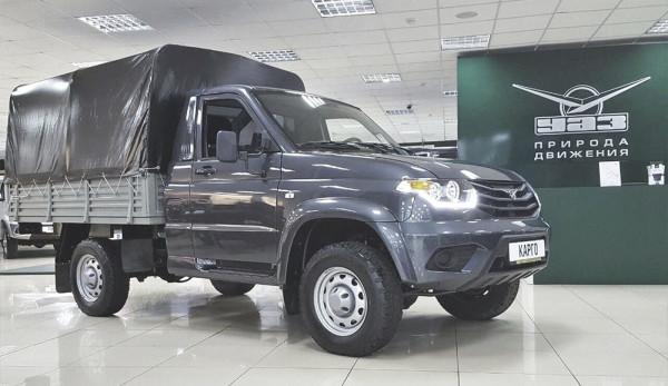 Продажи автомобилей марки УАЗ в июне увеличились