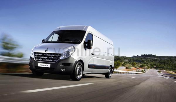 Renault Master с новым двигателем Евро-6
