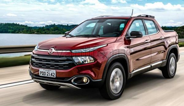 Пикап Fiat Toro станет доступен для Российских покупателей