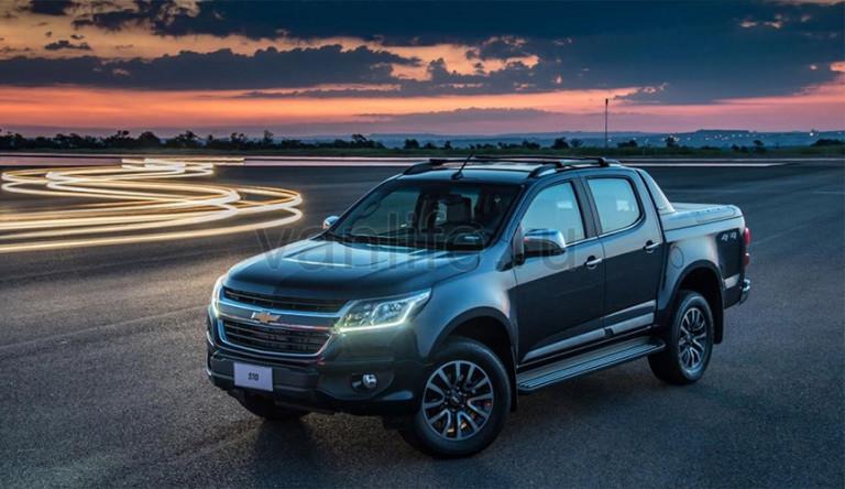 Компания Chevrolet представила модернизированную версию пикапа Colorado