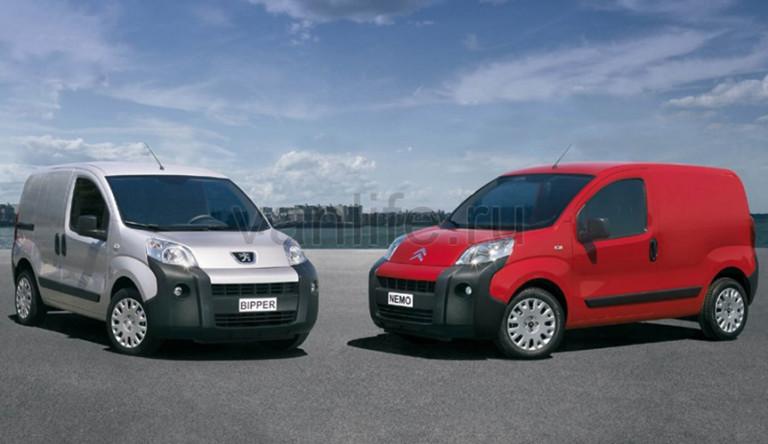 Фургоны Nemo и Bipper получат новые двигатели класса Евро-6