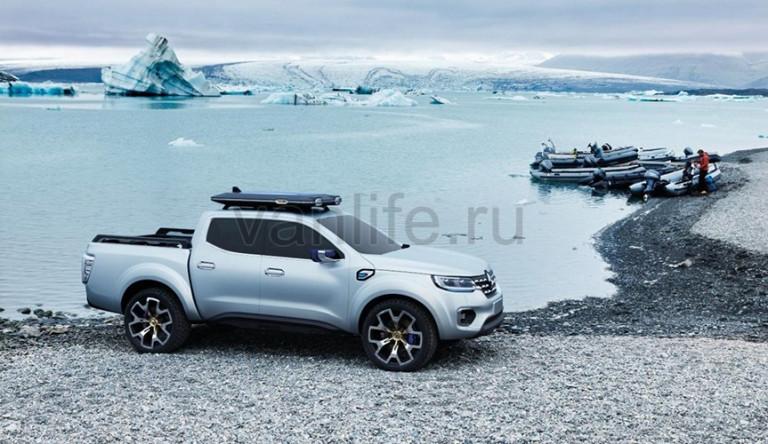 Раскрыт дизайн новой модели пикапа Renault Alaskan