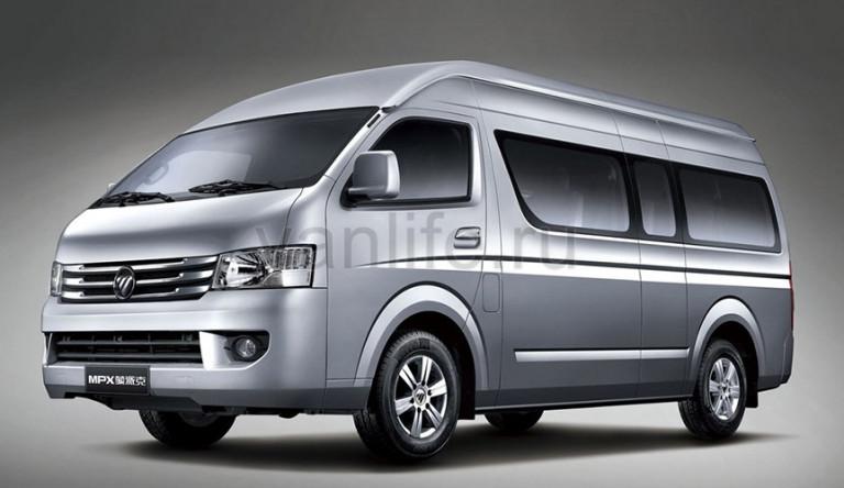 Технические характеристики Микроавтобус FOTON BJ 6549