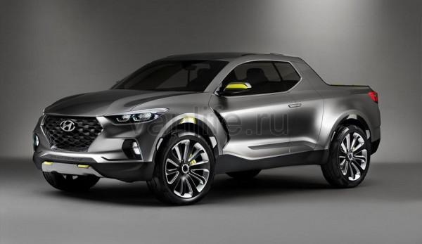 Пикап Hyundai Santa Cruz появится в 2018 году