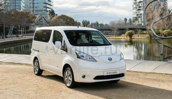 Фургон Nissan e-NV200 объявлен «Коммерческим автомобилем года» в Германии