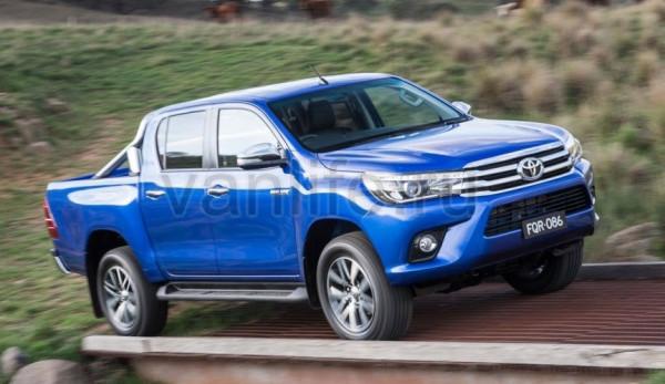 Технические характеристики Toyota Hilux (Тойота Хайлюкс) 2016