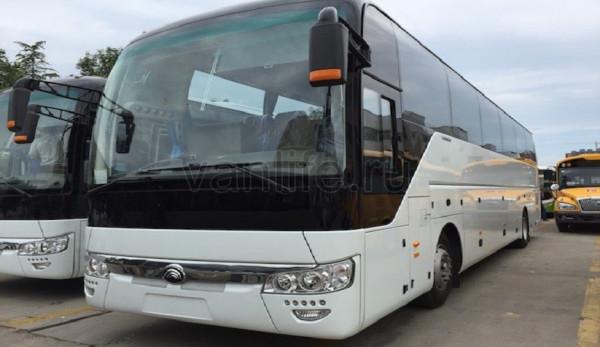 Автобусы от компании Yutong на выставке Busworld Russia