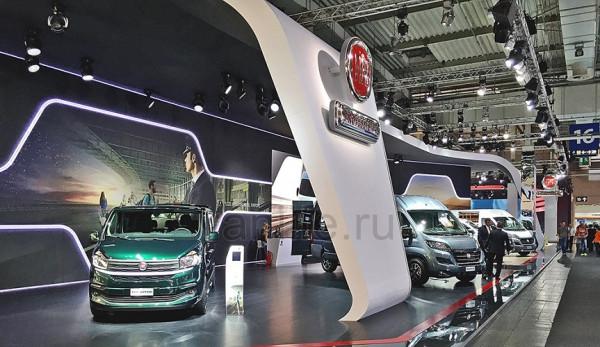 Fiat на выставке IAA 2016 в Ганновере