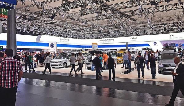 Volkswagen на выставке IAA 2016 в Ганновере