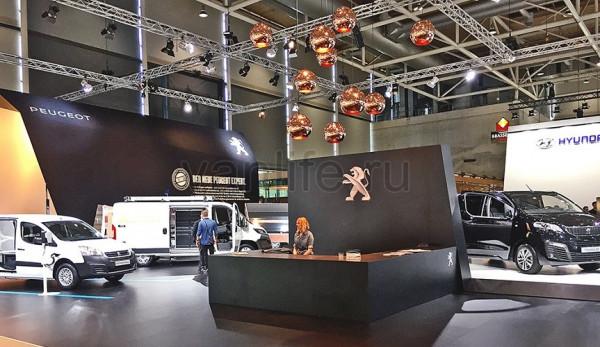 Peugeot на выставке IAA 2016 в Ганновере