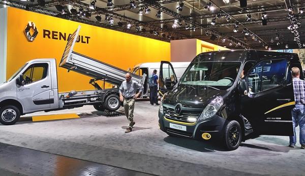 Renault на выставке IAA 2016 в Ганновере