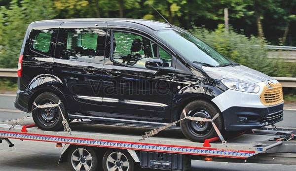 Ford Tourneo Courier с обновлённым дизайном