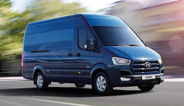 В Украине начались продажи обновлённого фургона Hyundai H350