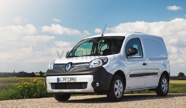 Renault увеличил запас хода электрического фургона Kangoo Z.E.