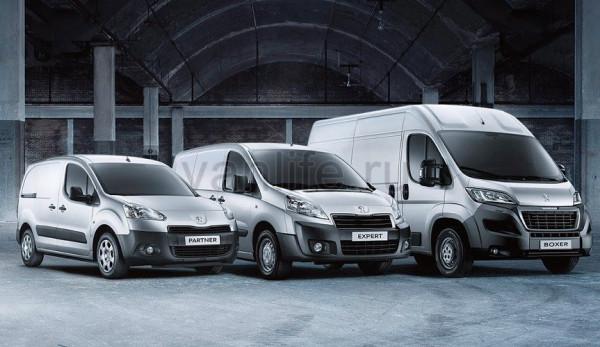 Обновлённые автомобили LCV марки Peugeot появятся в России