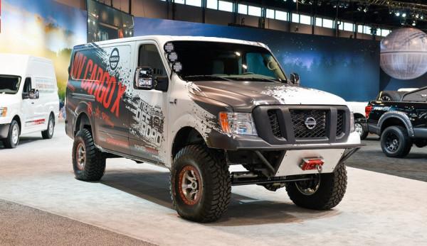Nissan NV Cargo X представлен официально