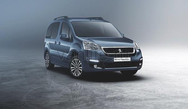 Peugeot Partner Tepee Electric дебютирует в Женеве