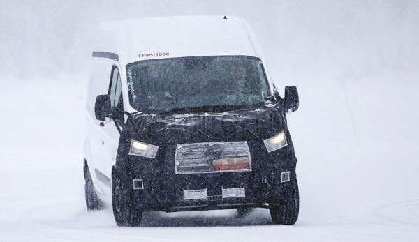Ford Transit Custom изменился « в лице».