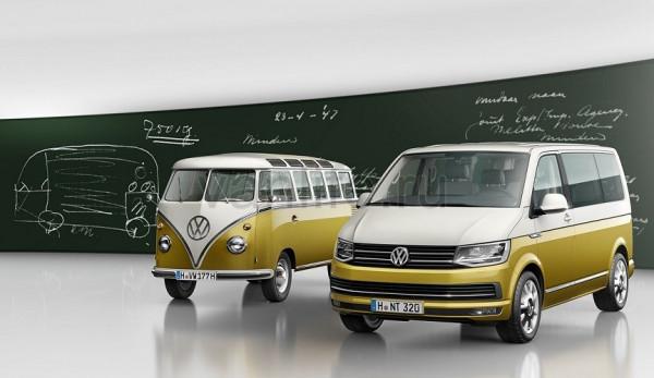 Компания Volkswagen отмечает 70-летие модели Bulli