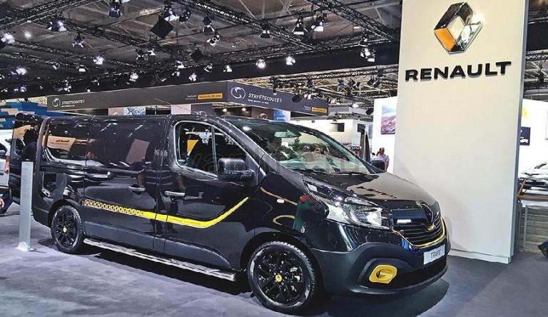 В Австралии начнут продавать спецверсию фургона Renault Trafic Formula Edition