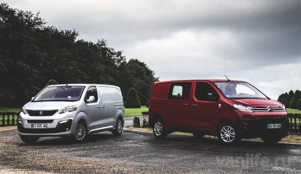 Стали известны российские цены на новые фургоны Citroen Jumpy и Peugeot Expert