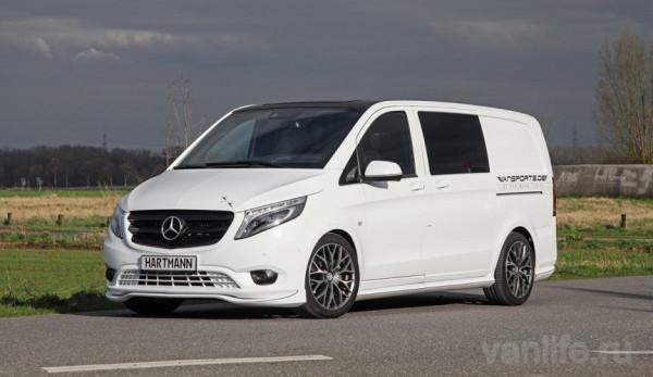 Микроавтобус Mercedes-Benz Vito стал ещё роскошнее
